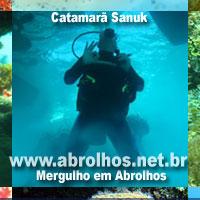 Mergulho em Abrolhos, BA